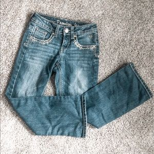 Girls' Justice premium jeans size 7R